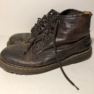 Vintage Doc Marten Boots 6 eye Distressed England